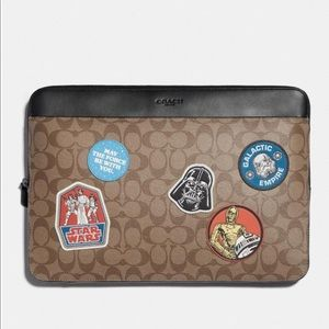 Star Wars X Coach Laptop Case With Patches